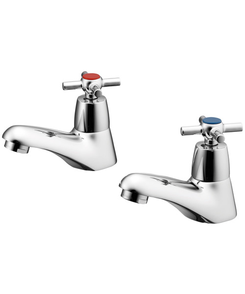 Ideal Standard Elements Crosshead Basin Pillar Taps