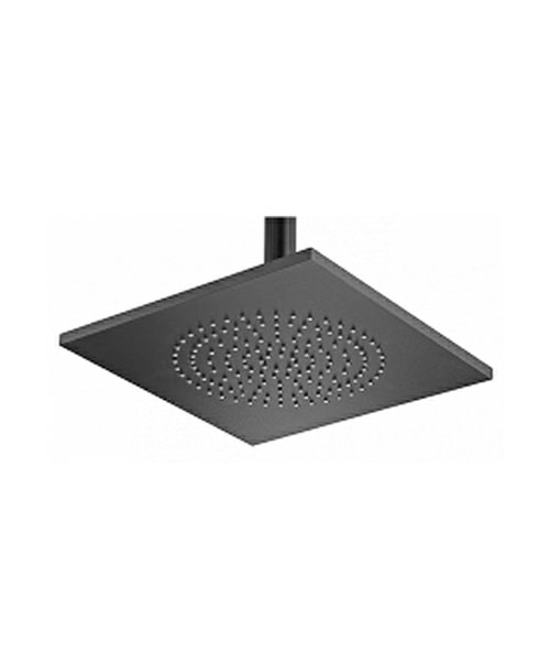 Tre Mercati Aluminium Square Black Rose And Swivel 240mm