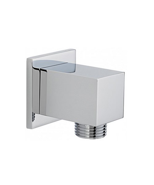 Tre Mercati Edge Square Wall Outlet Chrome
