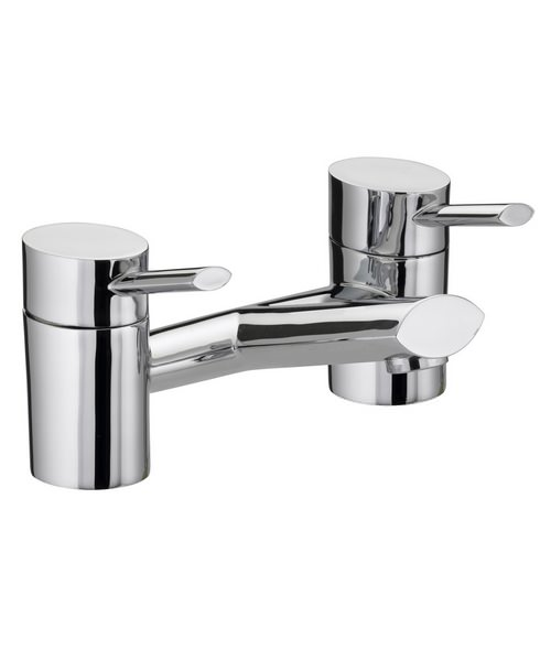 Bristan Oval Chrome Plated Bath Filler Tap