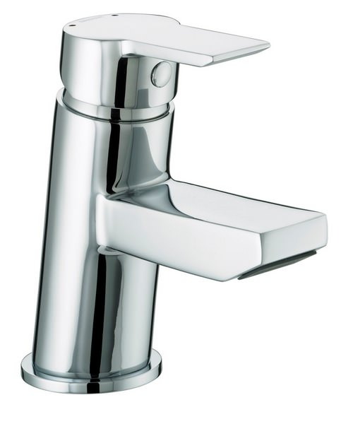 Bristan Pisa Small Basin Mixer Tap With Clicker Waste