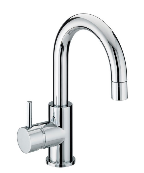 Bristan Prism Bristan Side Action Basin Mixer Tap With Pop-Up Waste
