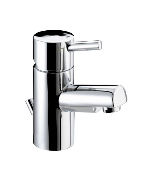 Bristan Prism Small Basin Mixer Tap With Pop-Up Waste