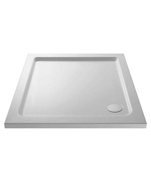 Lauren Pearlstone 800 x 800mm Square Shower Tray