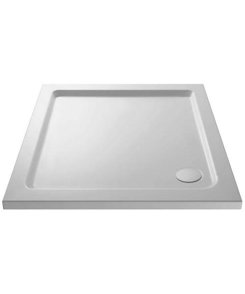 Lauren Pearlstone 1000 x 1000mm Square Shower Tray