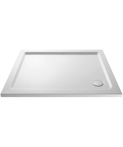 Nuie Premier Pearlstone 1000 x 800mm Rectangular Shower Tray