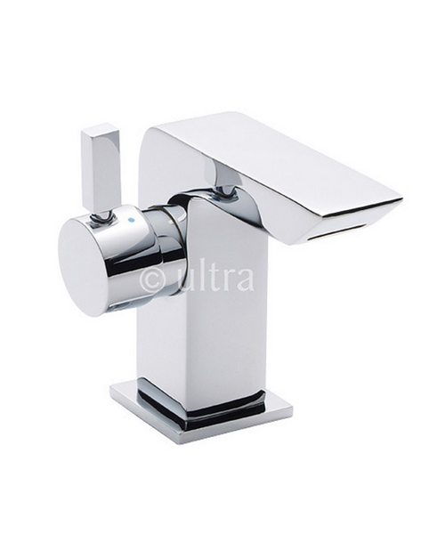 Ultra Mini Basin Mixer Tap With Side Action Lever Without Waste