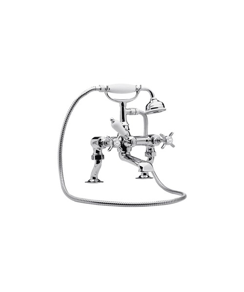 Ultra Beaumont Luxury 3/4 Inches Cranked Bath Shower Mixer Tap