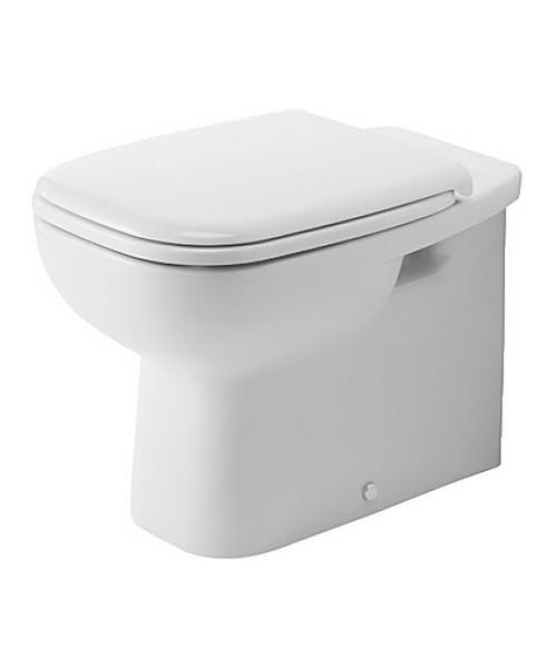 Duravit D-Code 560mm Floor Standing Back To Wall Toilet