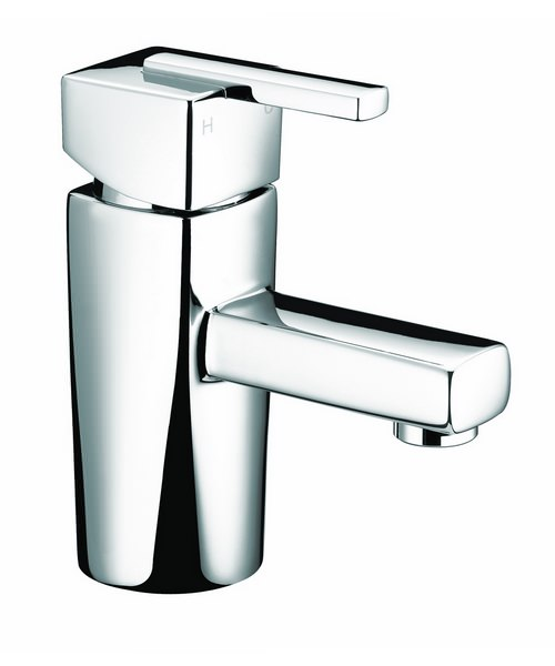Bristan Qube Basin Mixer Tap Without Waste