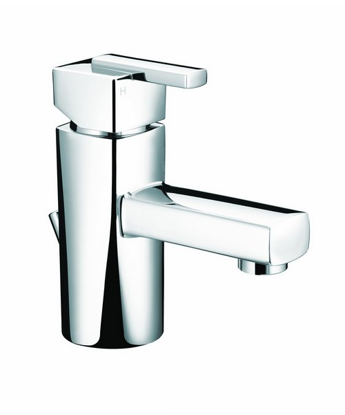 Bristan Qube Mini Basin Mixer Tap With Pop-Up Waste