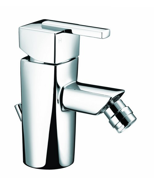 Bristan Qube Bidet Mixer Tap With Pop-Up Waste