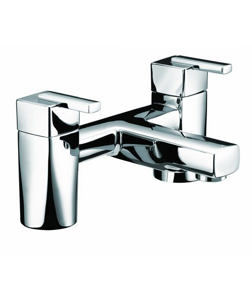 Bristan Qube Chrome Plated Bath Filler Tap