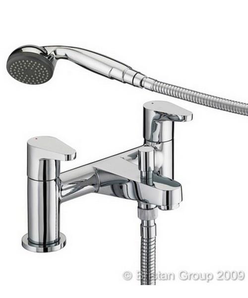 Bristan Quest Bath Shower Mixer Tap With Shower Kit