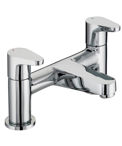 Bristan Quest Chrome Plated Bath Filler Tap