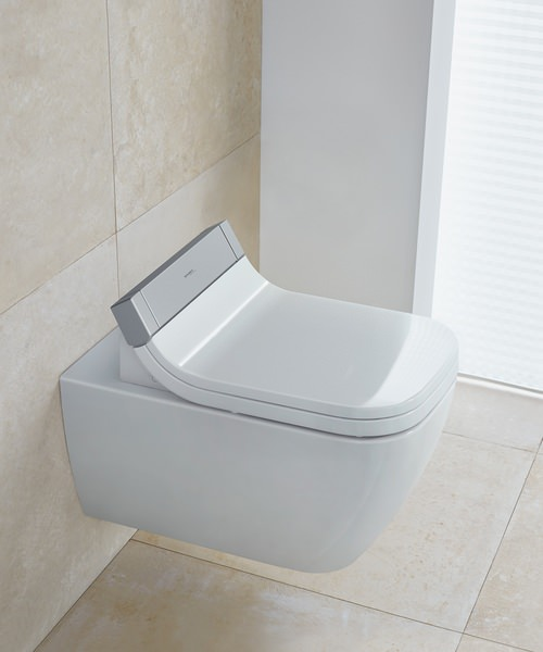 Duravit Happy D2 Wall Mounted Toilet With SensoWash Seat