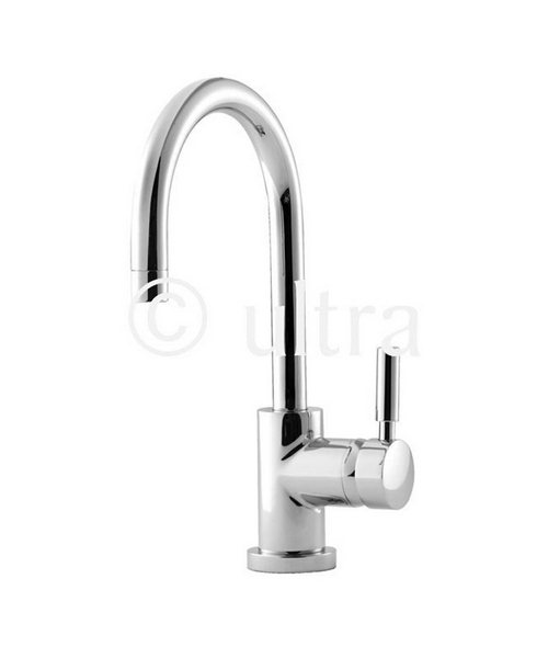 Ultra Helix Mono Side Action Mixer Tap With Swivel Spout