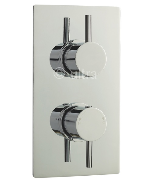 Ultra Quest Twin Concealed Thermostatic Shower Valve
