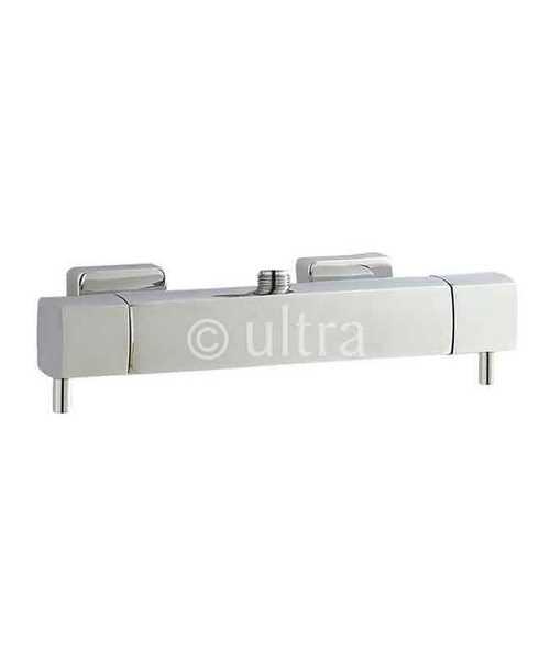 Ultra Minimalist Quadro Thermostatic Bar Shower Valve