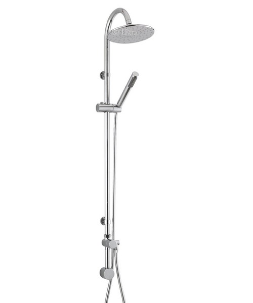 Ultra Destiny Shower Kit With Concealed Outlet Elbow And Diverter