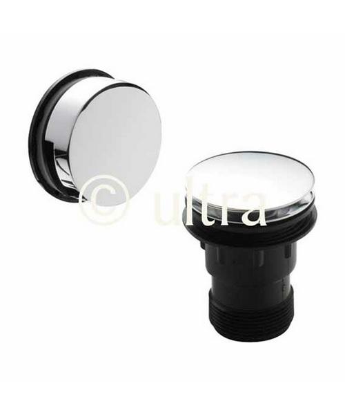 Ultra Easyclean Sprung Plug Bath Waste With Minimalist Overflow