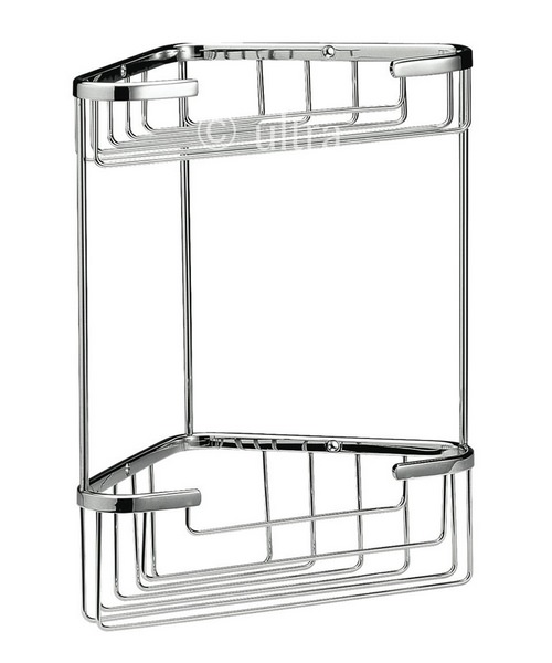 Ultra Large 2 Tier Corner Basket