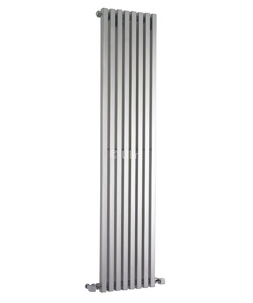 Ultra Kinetic High Gloss Silver Designer Radiator 360 x 1800mm