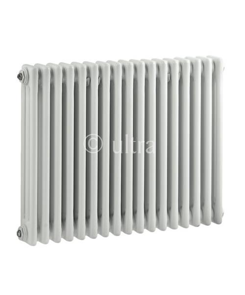 Ultra Colosseum White Finish Vertical Triple Column 786 x 600mm Radiator