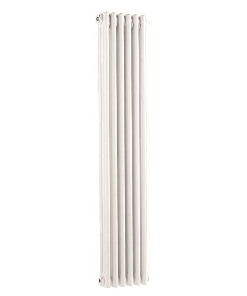 Ultra Colosseum White Finish Triple Column 381 x 1500mm Radiator