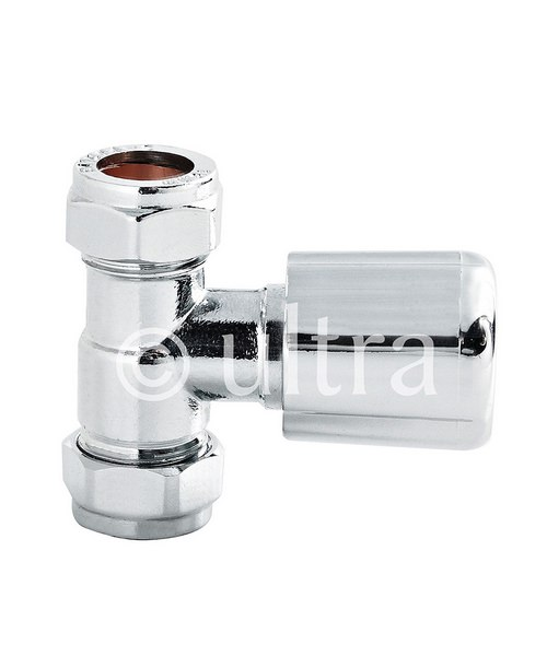 Ultra Straight Chrome Radiator Valves