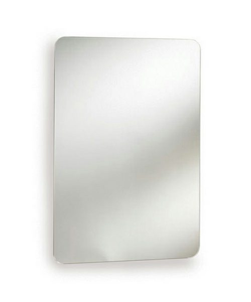 Ultra Image Stainless Steel Mirrored Cabinet With Hinged Door