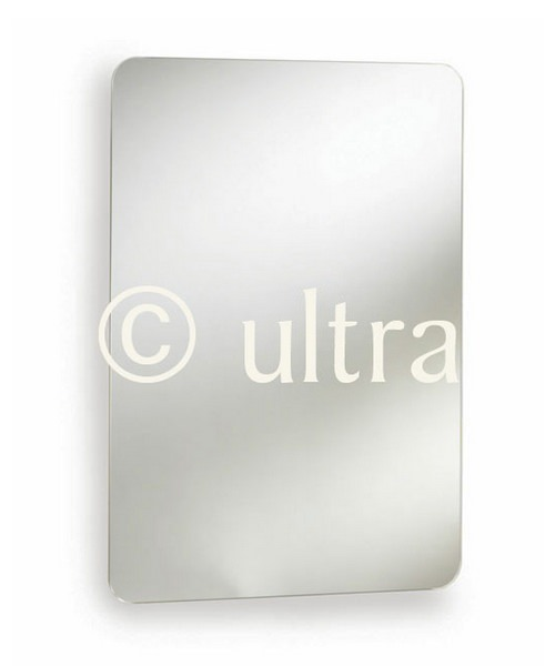 Ultra Austin Stainless Steel Mirrored Cabinet 460 x 660mm