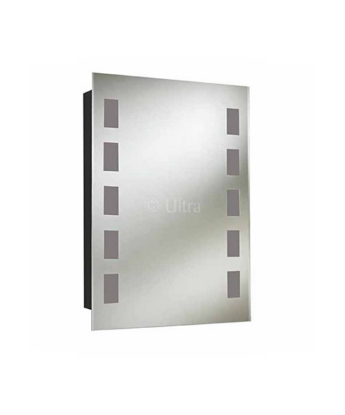 Ultra Argenta Stainless Steel Mirror Cabinet 500 x 700mm