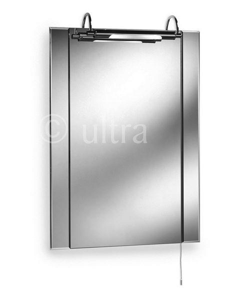 Ultra Pallas Mirror With Light 550 x 750mm