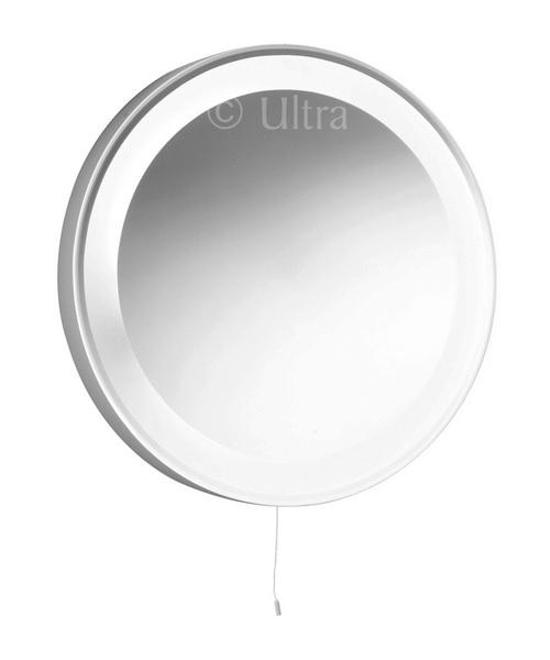 Ultra Verdi Backlit Mirror 550mm Diameter