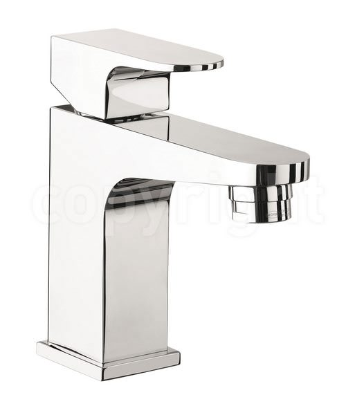 Crosswater Modest Mini Monobloc Basin Mixer Tap Chrome