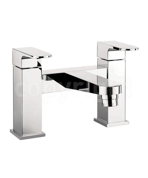 Crosswater Modest Deck Mounted Bath Filler Tap Chrome