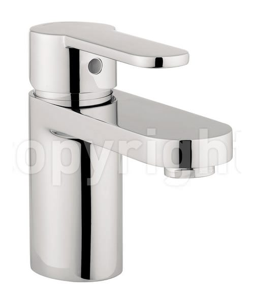 Crosswater Central Monobloc Basin Mixer Tap Chrome