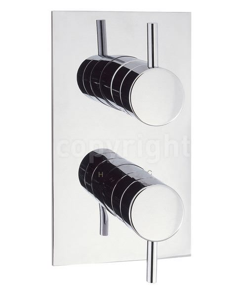 Crosswater Elite Portrait Thermostatic Shower Valve With 2 Way Diverter