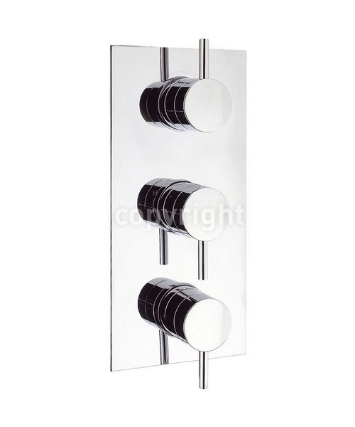 Crosswater Elite Thermostatic 3 Way Diverter Shower Valve Portrait