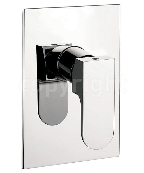 Crosswater Modest Manual Concealed Shower Valve Chrome