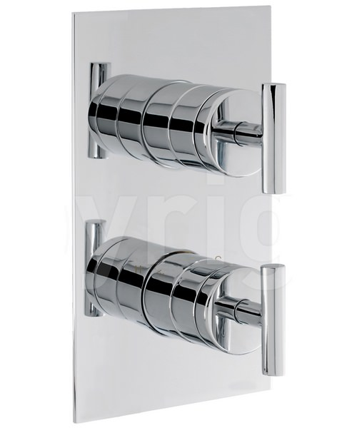 Crosswater Glide Recessed Thermostatic Portrait Shower Valve