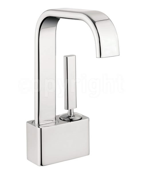 Crosswater Edge Monobloc Basin Mixer Tap Chrome