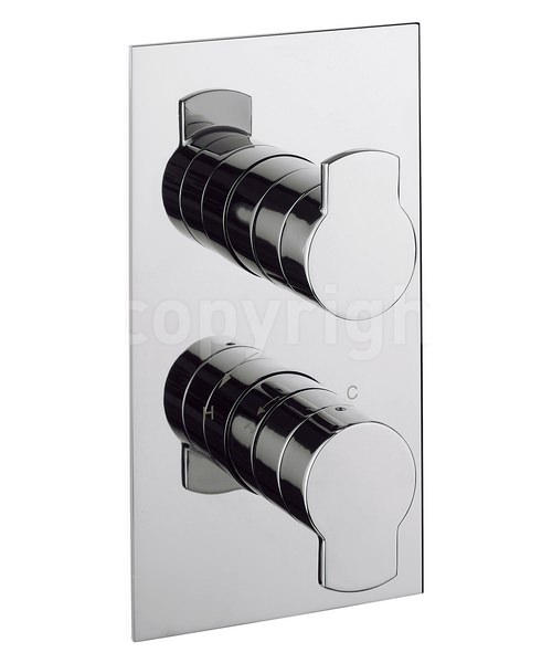 Crosswater Wisp Thermostatic Shower Valve With 2 Way Diverter