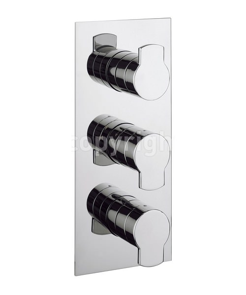 Crosswater Wisp Thermostatic Shower Valve With 3 Way Diverter Portrait
