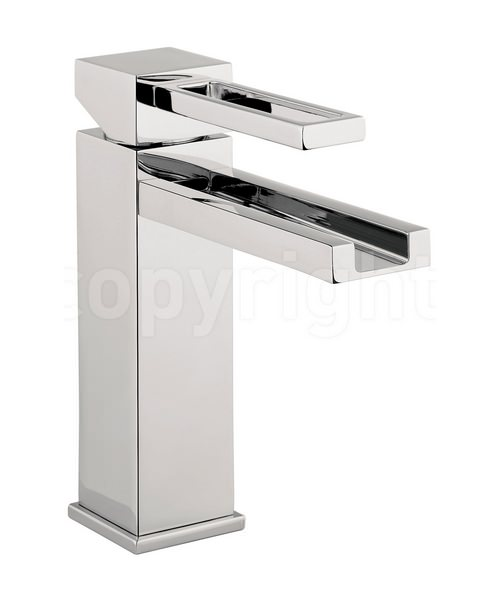 Crosswater Zest Monobloc Basin Mixer Tap Chrome