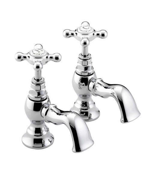 Bristan Trinity Chrome Basin Taps