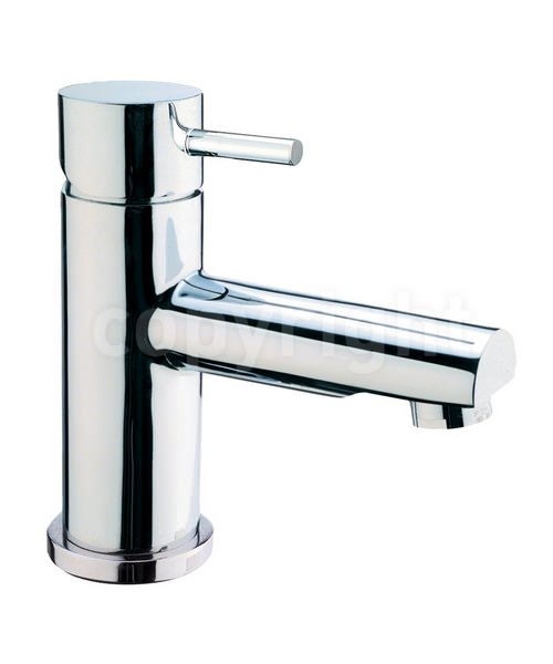 Crosswater Kai Lever Monobloc Chrome Basin Mixer Tap With Pop-Up Waste