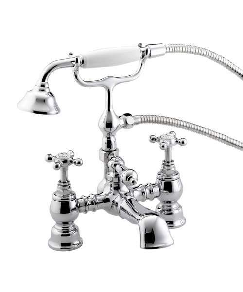 Bristan Trinity Chrome Bath Shower Mixer Tap