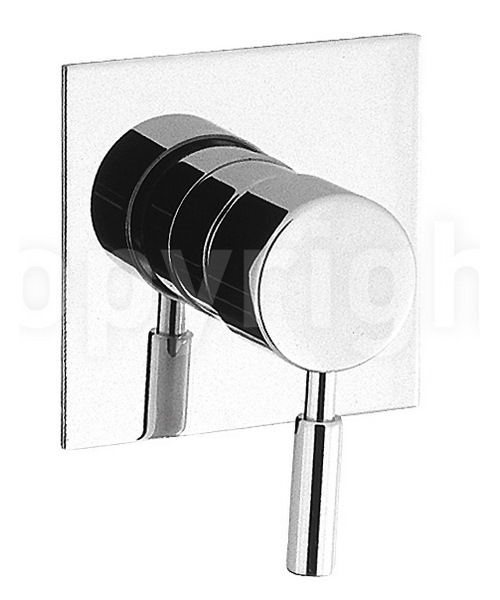 Crosswater Design Manual Recessed Shower Valve Chrome